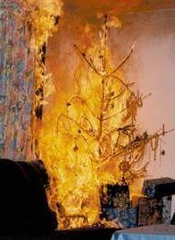 Chreistbaumbrand