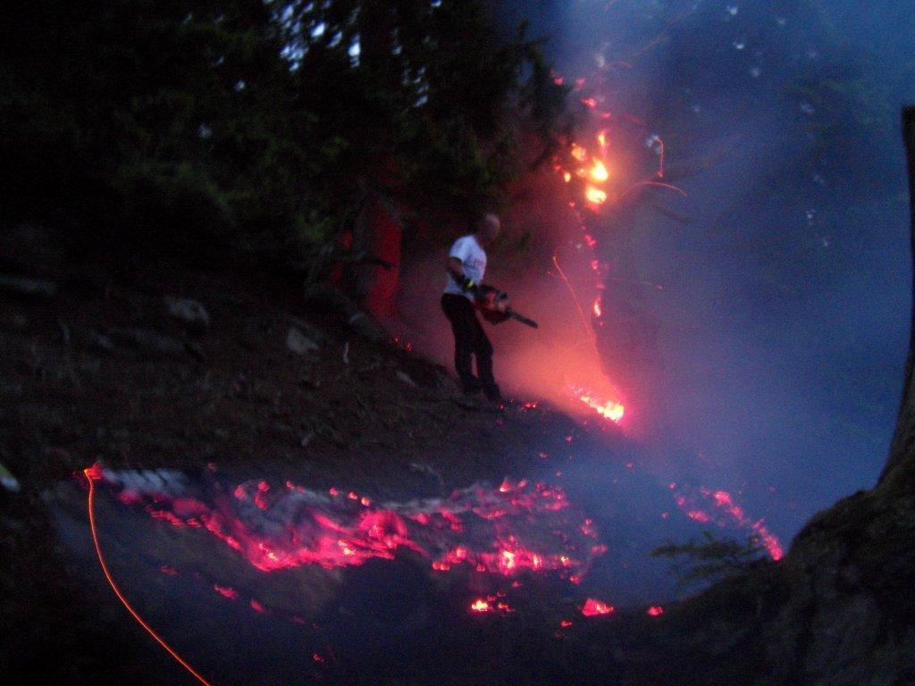 Waldbrand Donnersbchwald 2012