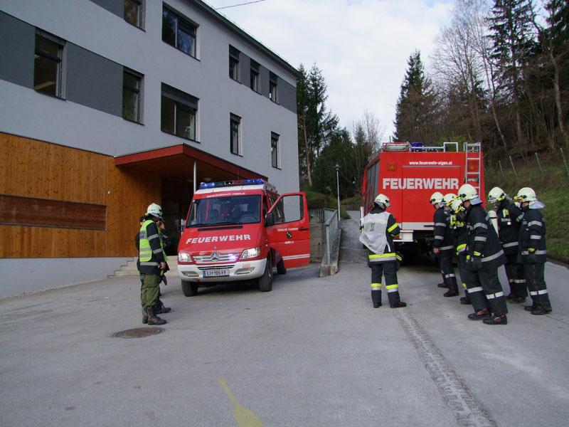 Räumungsübung VS Aigen 2012